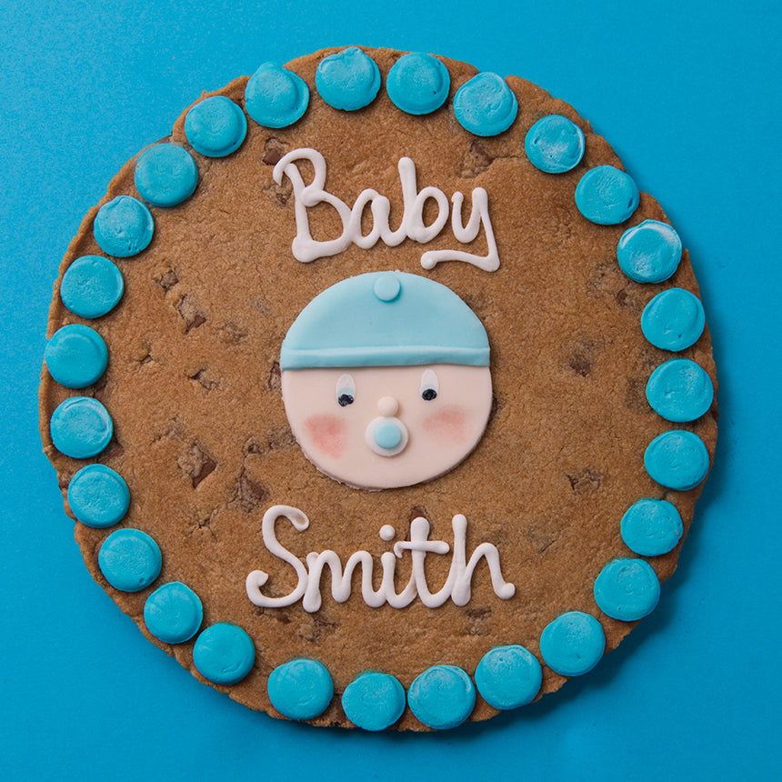 New Baby Cookie Card