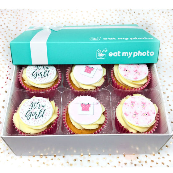 It's A Baby Girl Cupcakes by Post