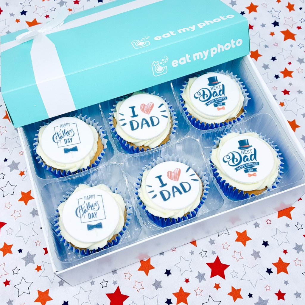 Best Dad Cupcakes Gift Box - Funky Food Gifts