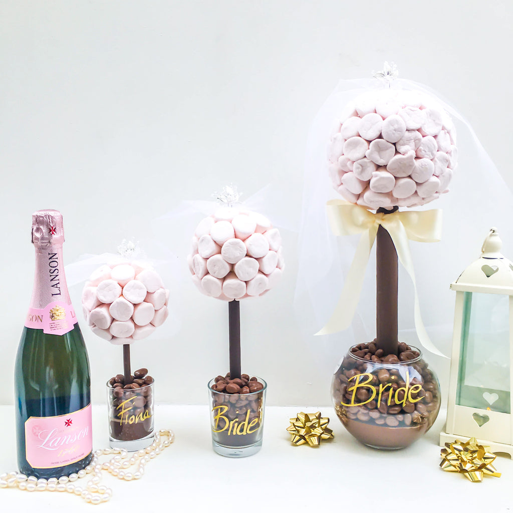 Bride Sweet Trees for Wedding Tables