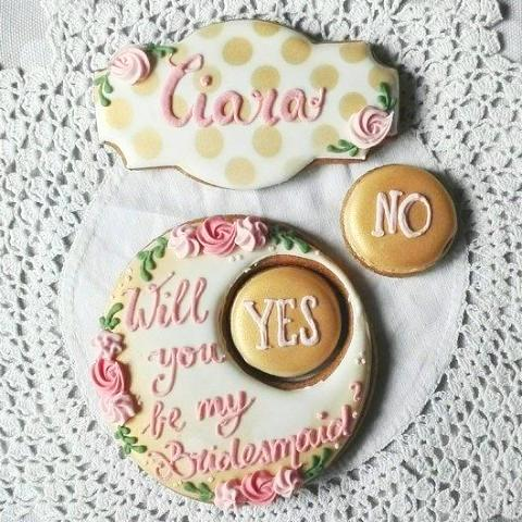Will You Be My Bridesmaid Cookie Gift Box