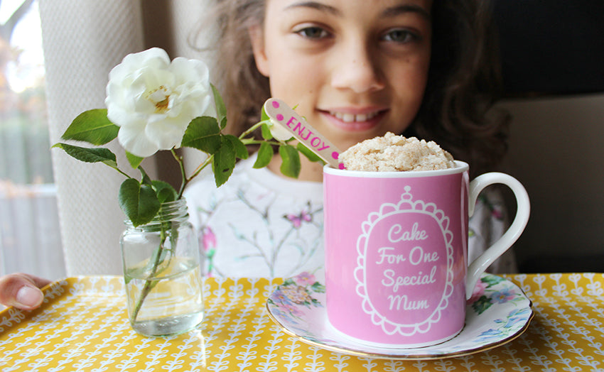 Cookie Crumbles Mug Cake For Mum