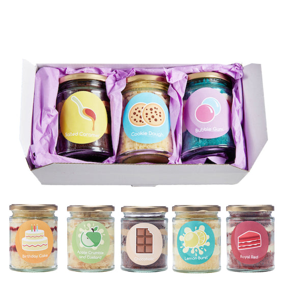 Cake Empire Cake Jars Gift Box