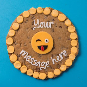 Cheeky Emoji Cookie Card