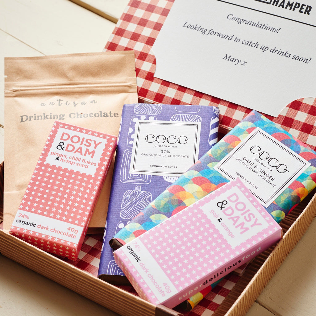 Chocoholics Letter Box Hamper