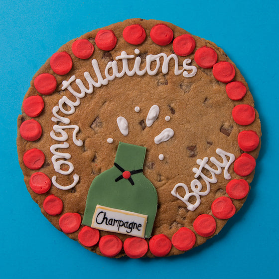 Personalised Congratulations Cookie Card
