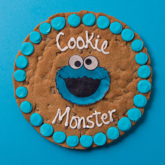 Cookie Monster Chocolate Chip Cookie