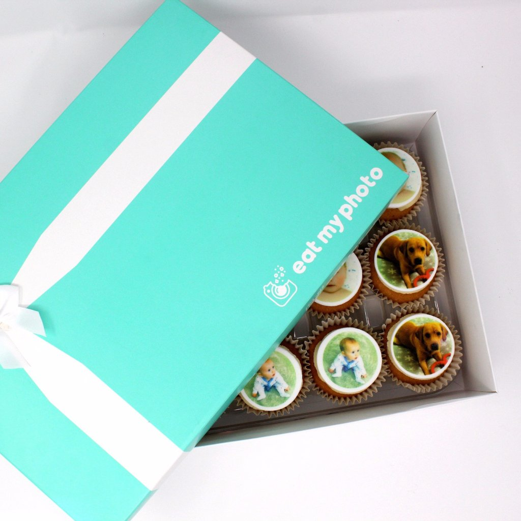 Personalised Photo Cupcakes - Funky Food Gifts