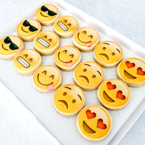 Emoji Cookies Enchanting Bakes