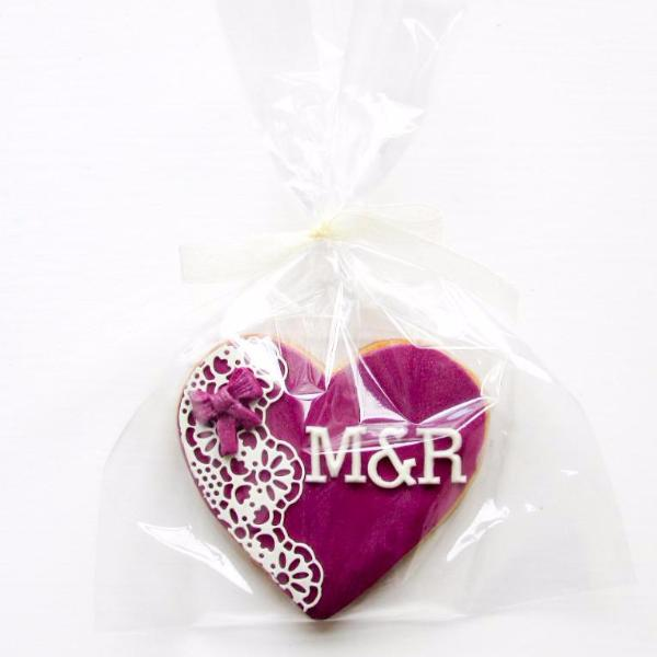 Personalised Wedding Favour Cookies