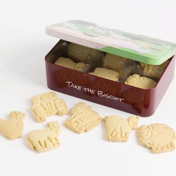 Farmyard Collection Shortbread Biscuit Tin