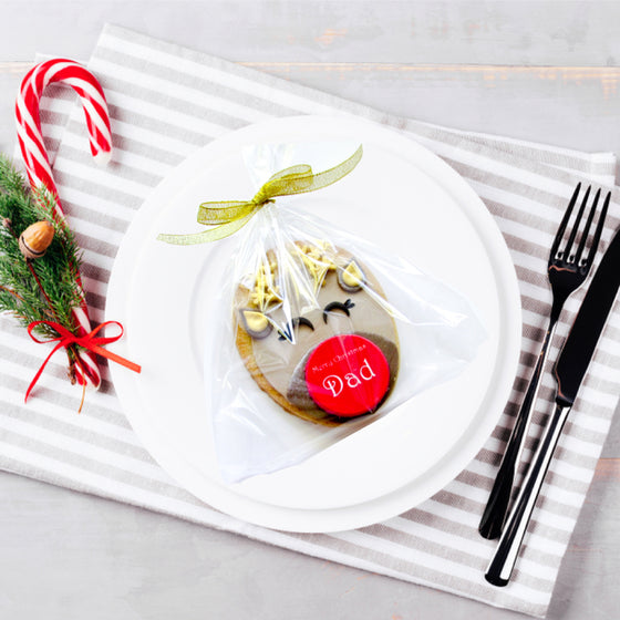 Edible Christmas Table Name Place Cards