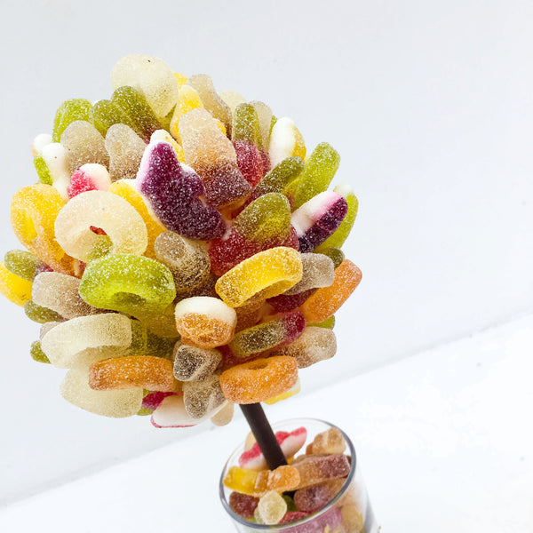 Fizzy Haribo Personalised Sweet Tree