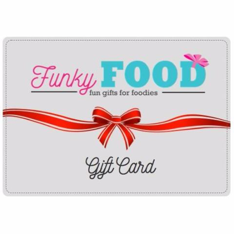 Funky Food Gift Card