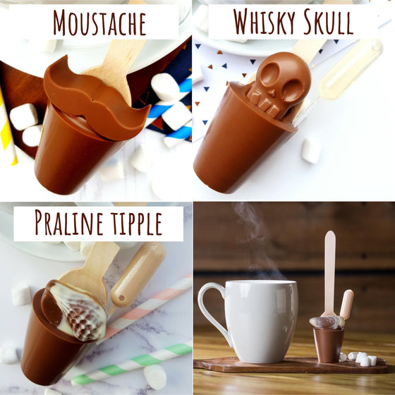 Father's Day Hot Chocolate Stirrers