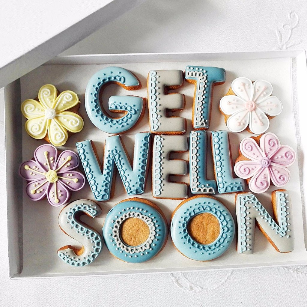 Get Well Soon Gift Box - Funky Food Gifts