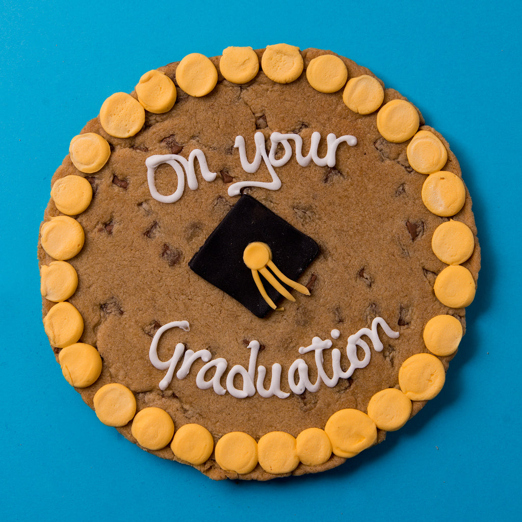 Graduation Chocolate Chip Cookie