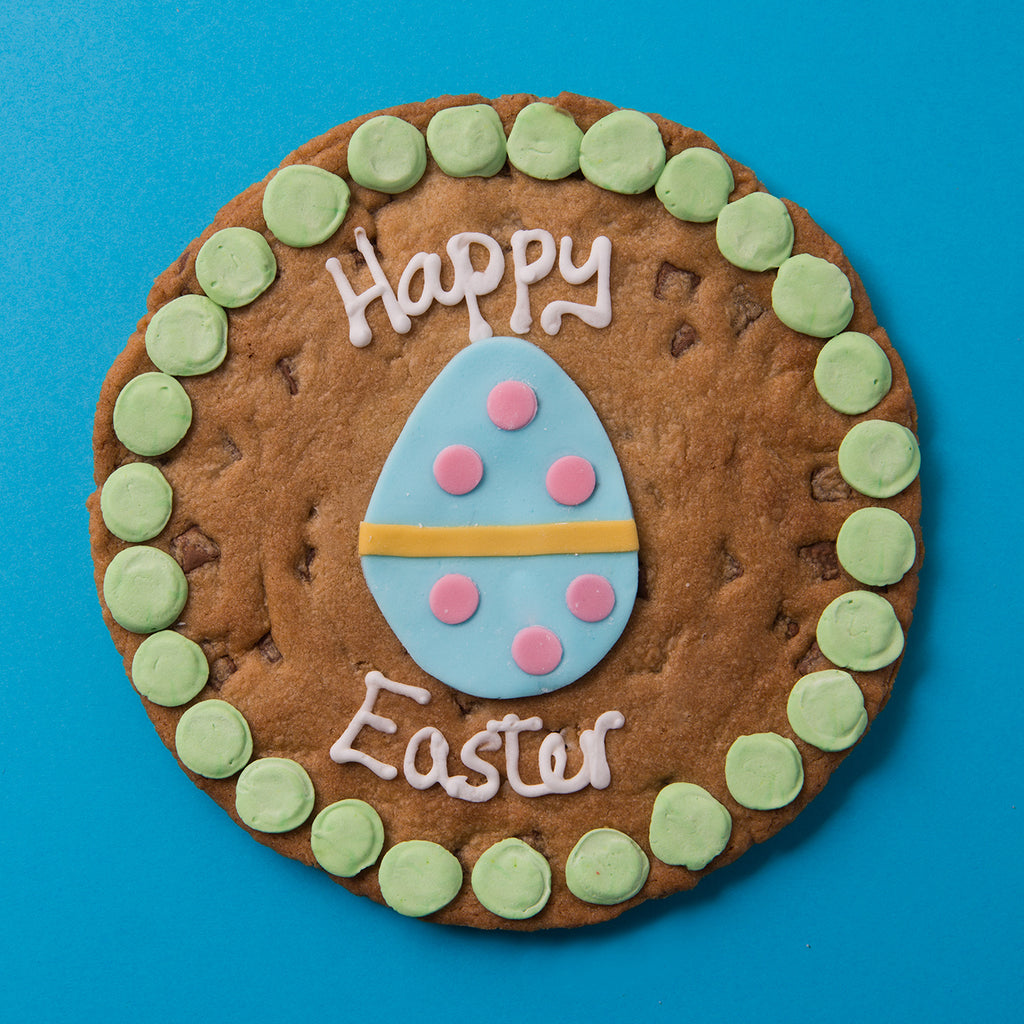 Happy Easter Egg Cookie Card