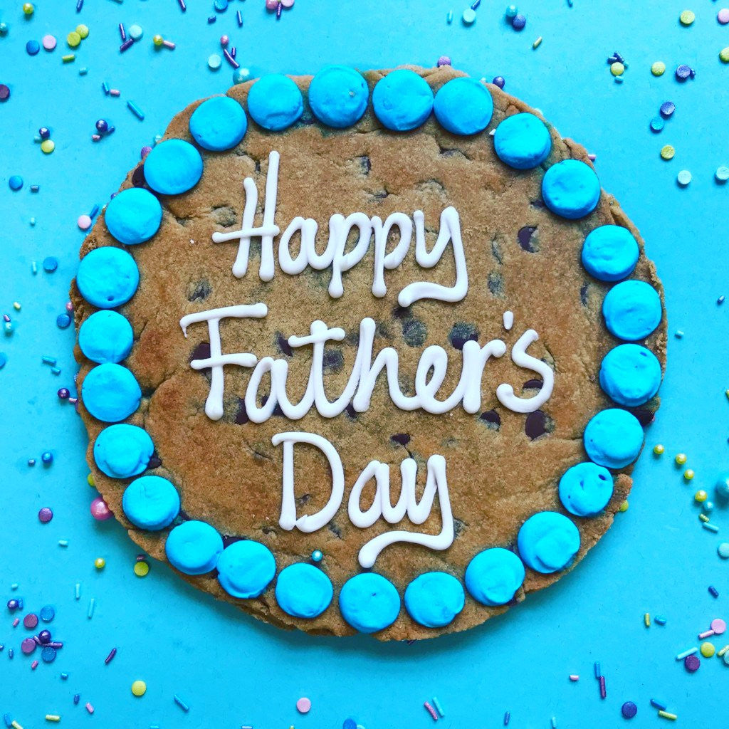 Father's Day Mega Chocolate Chip Cookie Card