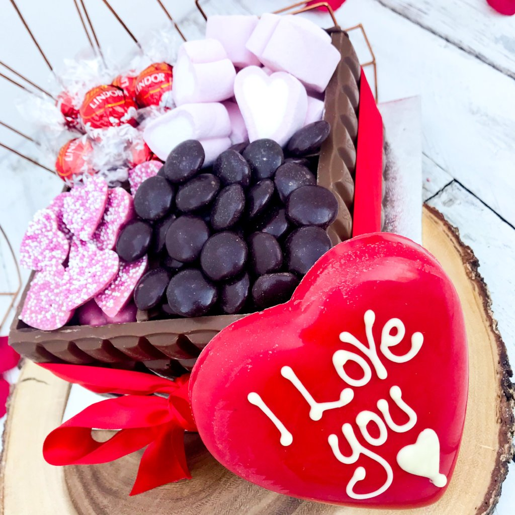 I Love You Chocolate Box : ultimate chocolate gifts
