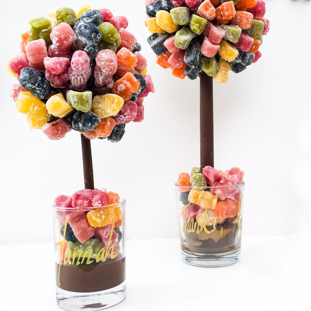 Jelly Baby Gift Ideas : Personalised jelly baby tree by sweet trees funky food gifts