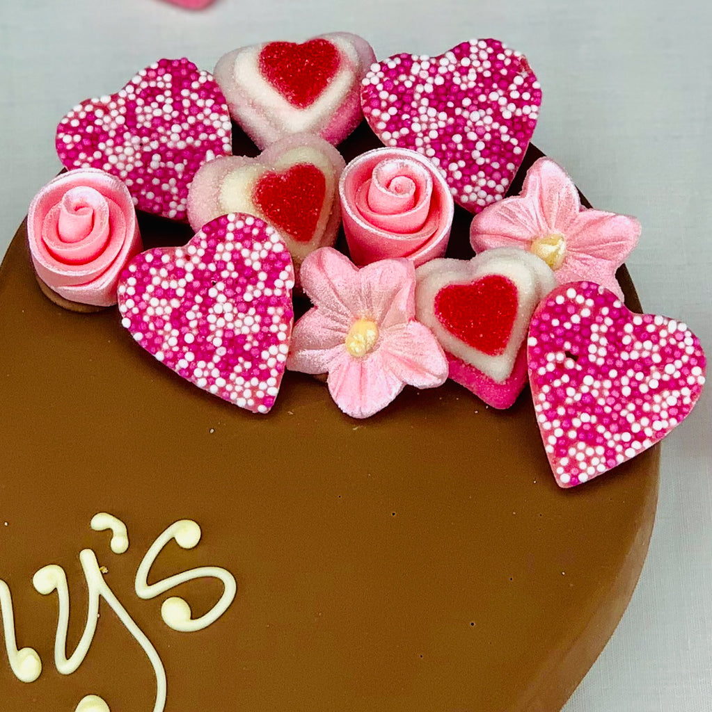 Mother's Day Belgian Chocolate Heart