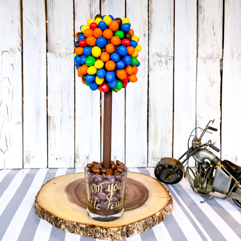 Peanut M&M's Sweet Tree