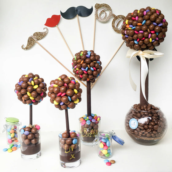 Malteser and Smarties Sweet Tree