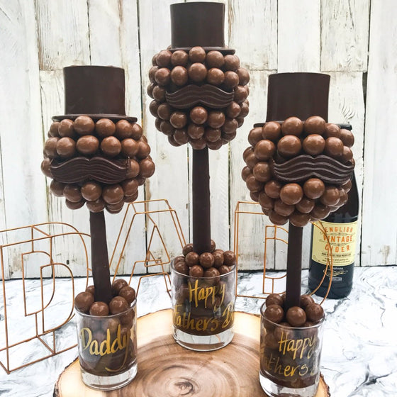 Malteser Hat And Moustache Tree by Sweet Trees