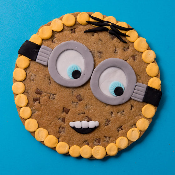 Despicable Me Minion Cookie