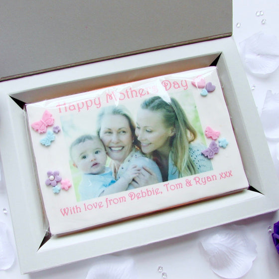 Mother's Day Photo Cookie Card