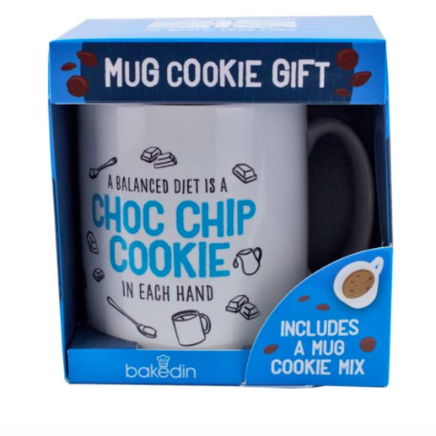 Choc Chip Mug Cookie Gift Set BakedIn