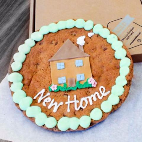 Giant New Home Chocolate Chip Cookie