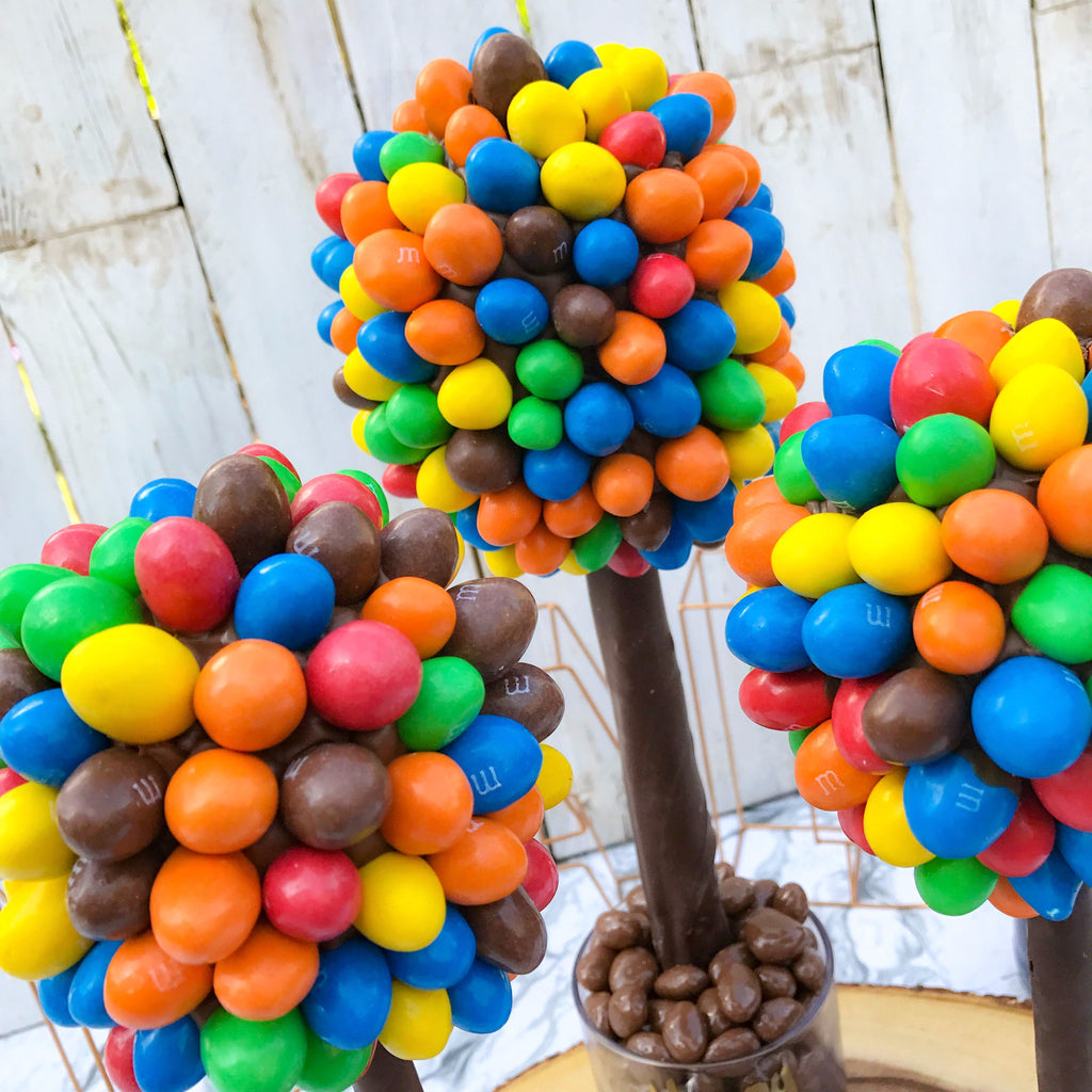 Peanut M&M Sweet Tree by Browns