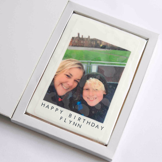 Personalised Giant Photo Cookie Card
