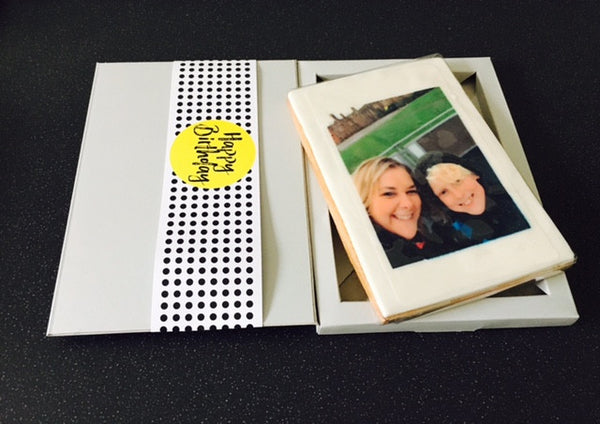 Photo Cookie Card