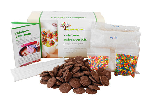 Rainbow Cake Pop Kit The Baking Tree