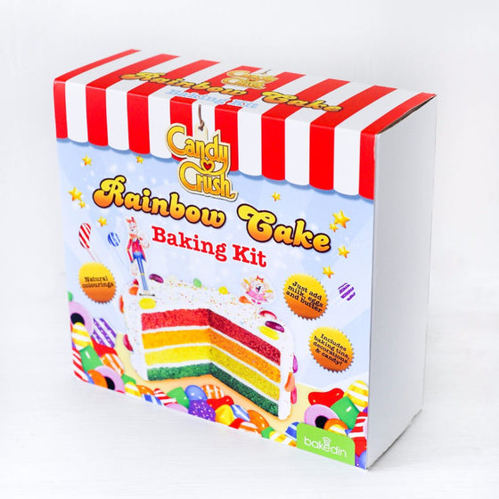 Candy Crush Rainbow Cake Baking Kit