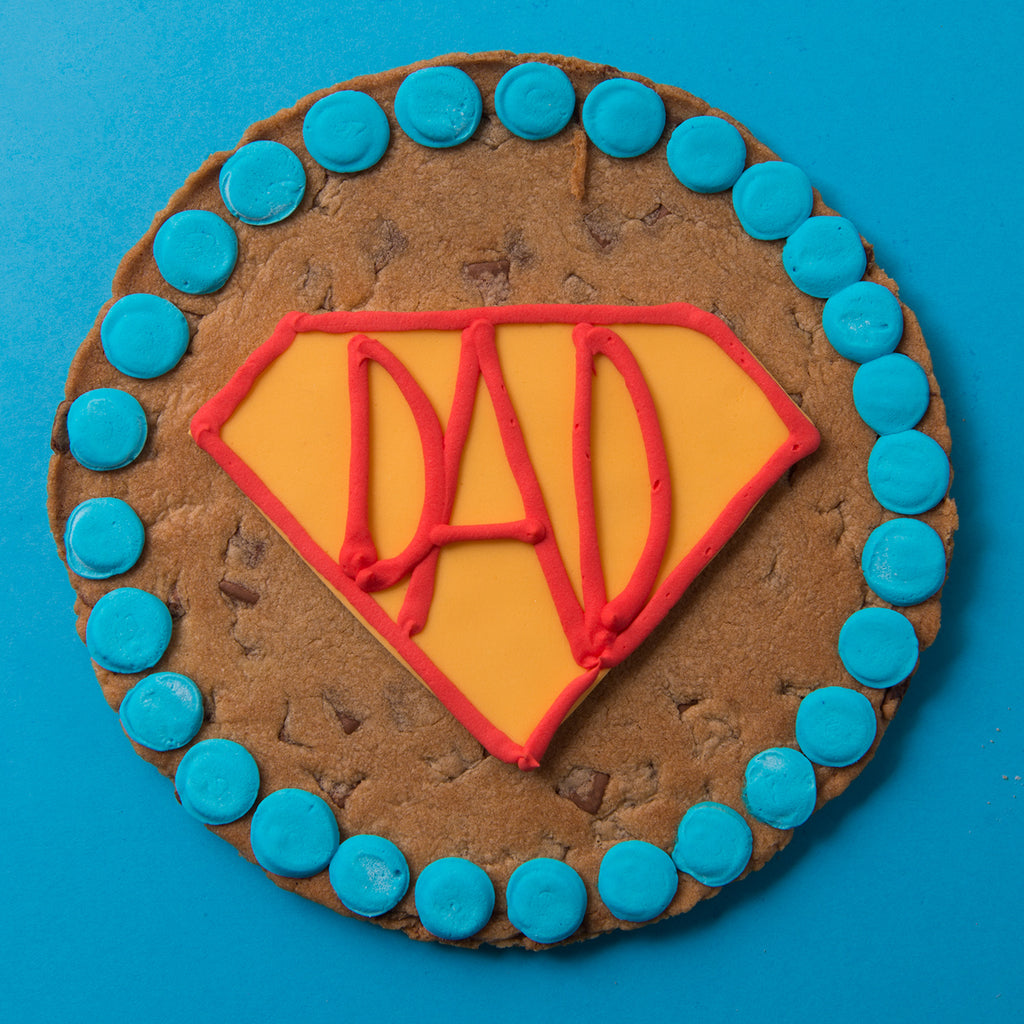Superhero Cookie Card
