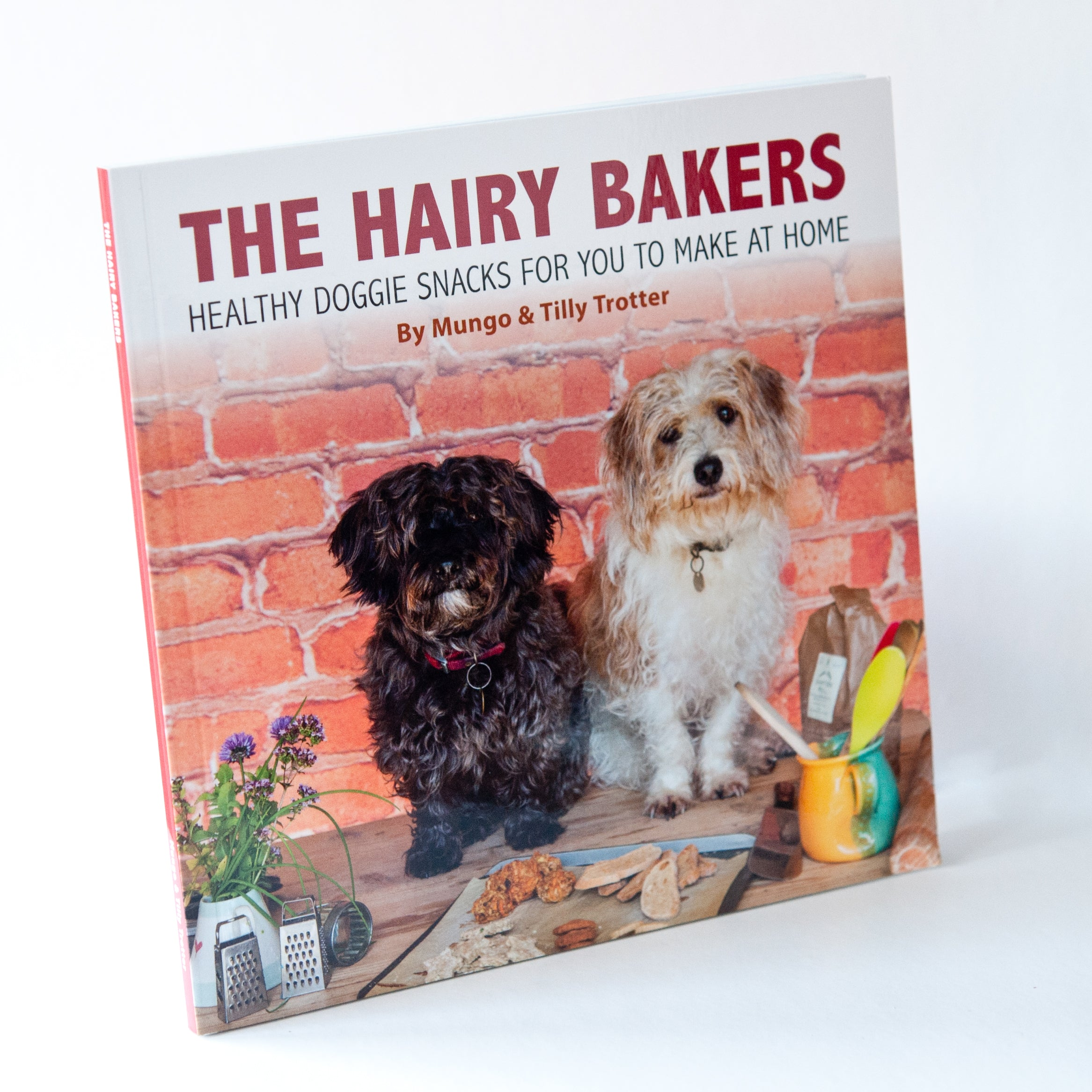 The hairy bakers healthy doggie snacks recipe book funky food gifts the hairy bakers dog treat recipe book forumfinder Image collections