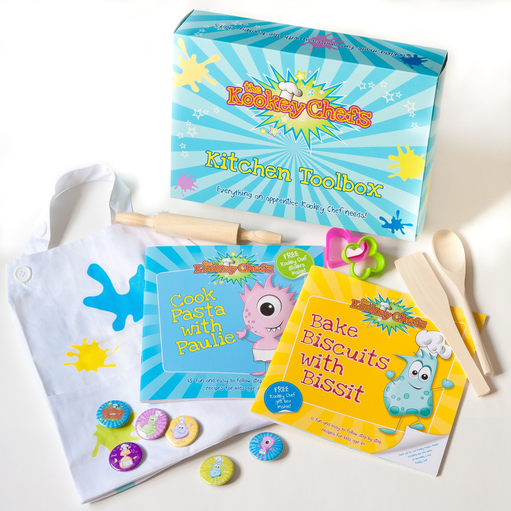 Kid\'s Cooking Set - Funky Food Gifts