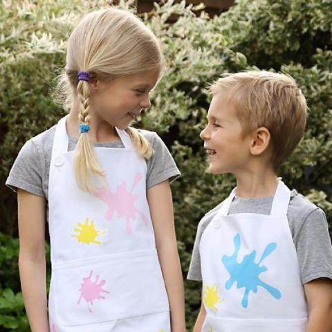 Children's Apron Splat Design