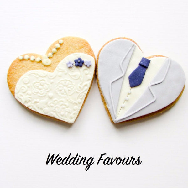 Bustier and Tuxedo Wedding Favours