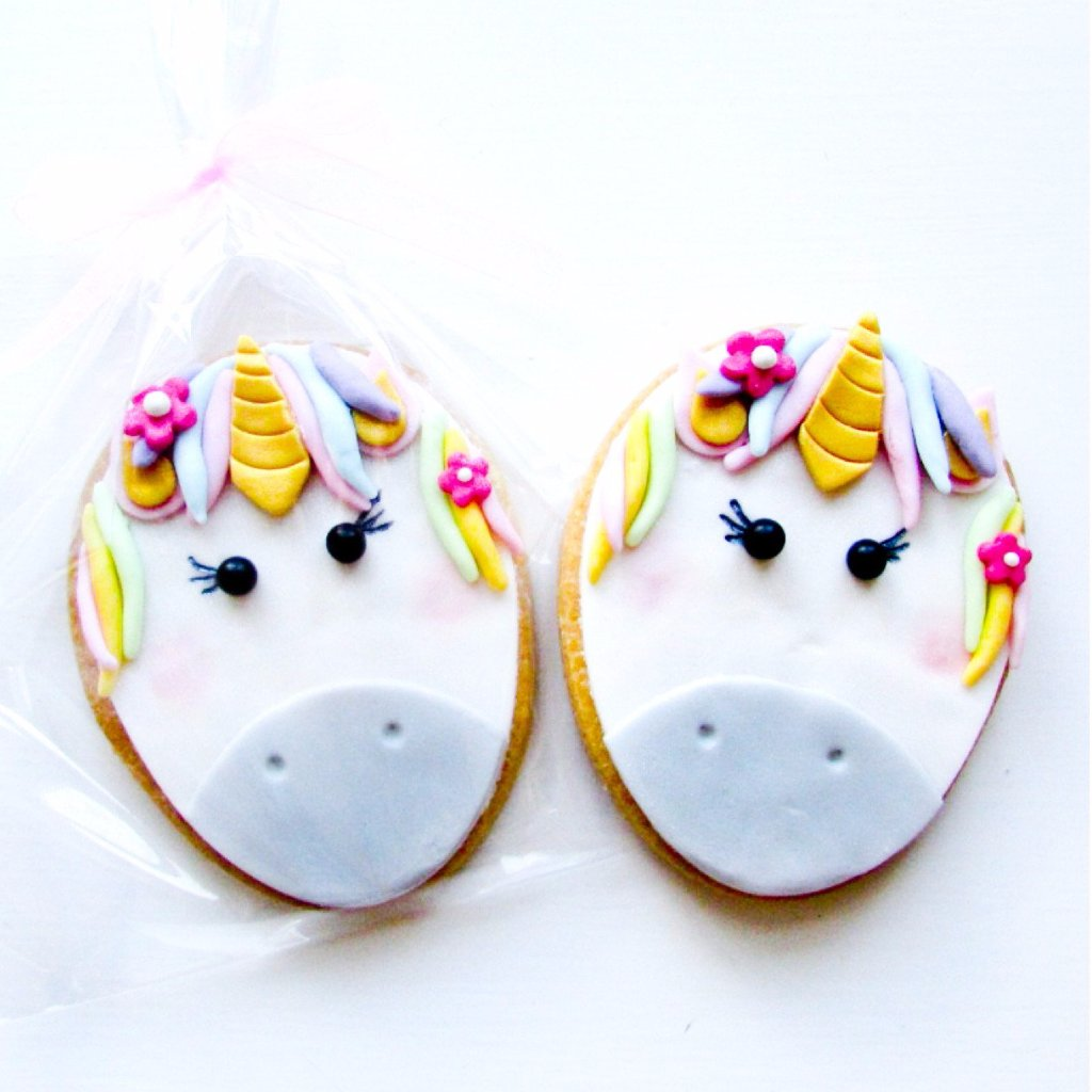 Unicorn Party Cookie Favours