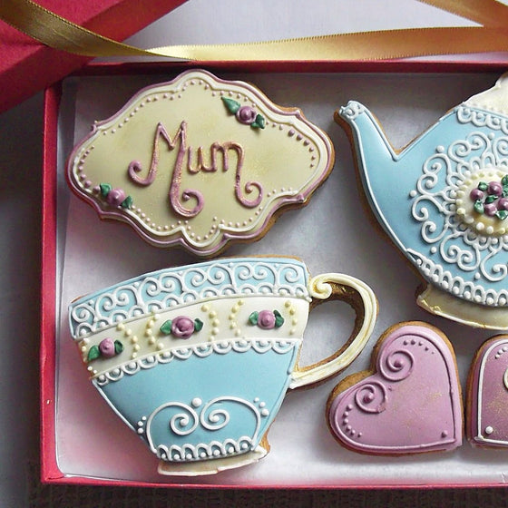 Personalised Vintage Style Cookie Box UK Delivery