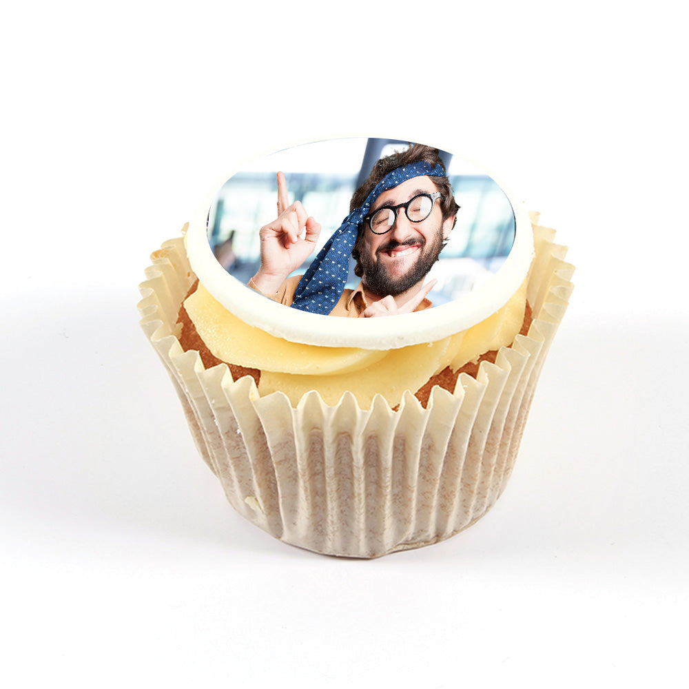 Personalised Photo Cupcake Toppers