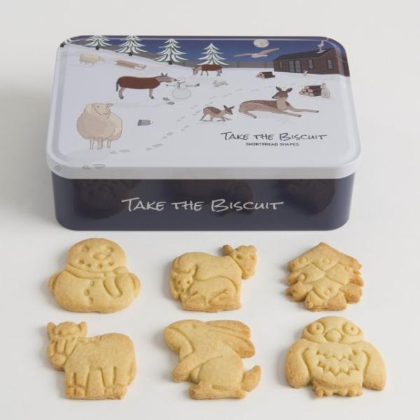 Christmas Shortbread Take The Biscuit Tin