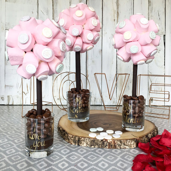 Marshmallow and Love Heart Tree