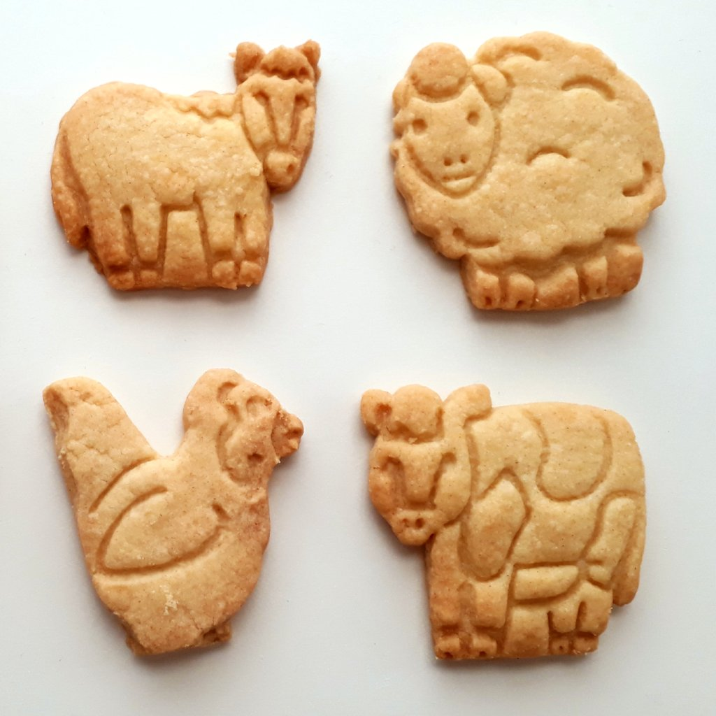 Farmyard Shortbread Biscuits