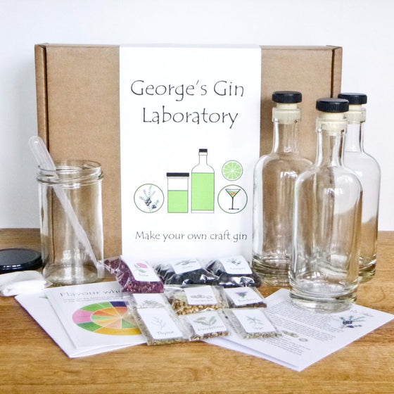 GinCraft Plus - personalised gin making kit